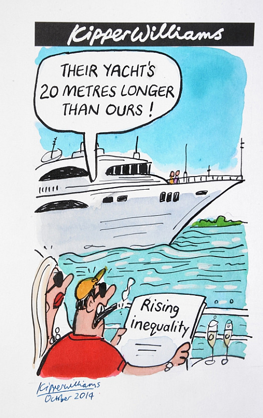 Their Yacht's 20 Metres Longer than Ours!