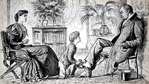 Social AgoniesHerr Bauer. 'Ach! My Little Vrent, My Poots Are Not Mutty! Vy Are Your Trying to Prush Dem?'Tommy. 'Mayn't I? Mummie Says You Want Polish!'