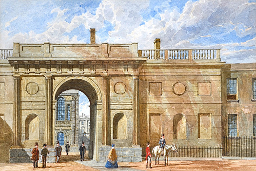 The Canterbury Gate, Christ Church, Oxford