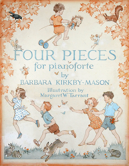 Four Pieces For Pianoforte