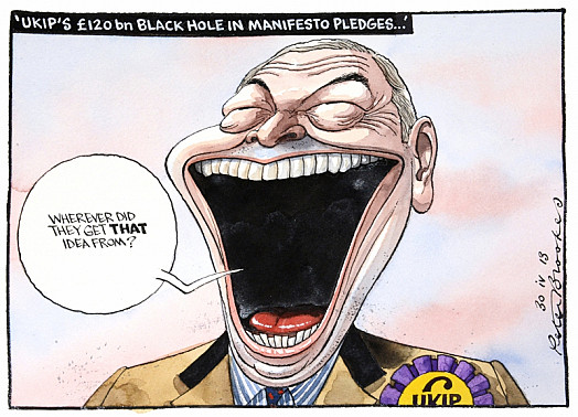 'Ukip's £120 Bn Black Hole In Manifesto Pledges...'