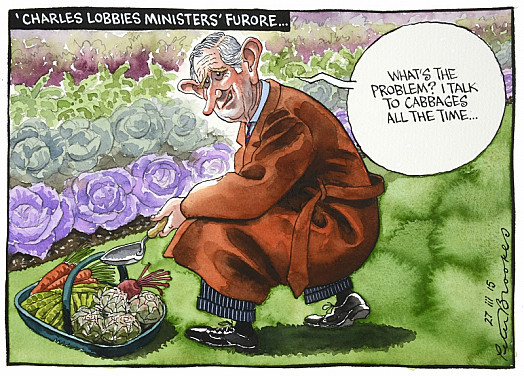 'Charles Lobbies Ministers' Furore
