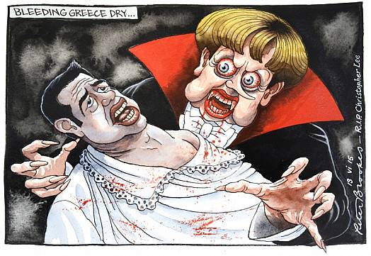 Bleeding Greece Dry...