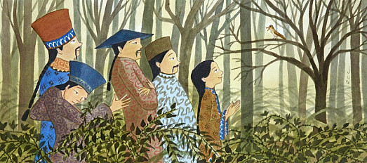 She Brought Them to the Tree Where the Nightingale Sat