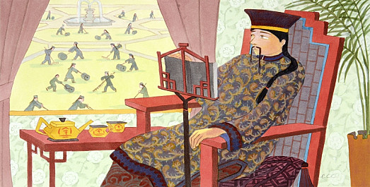 The Emperor of China's Palace Was Full of the Wonders of Art
