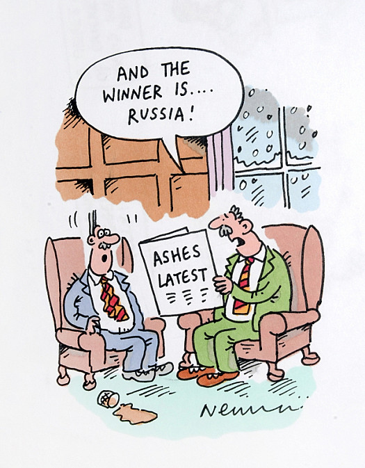 And the Winner Is... Russia!