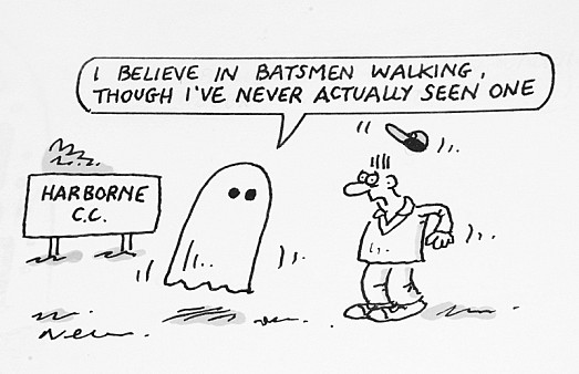 I Believe In Batsmen Walking, Though I've Never Actually Seen One