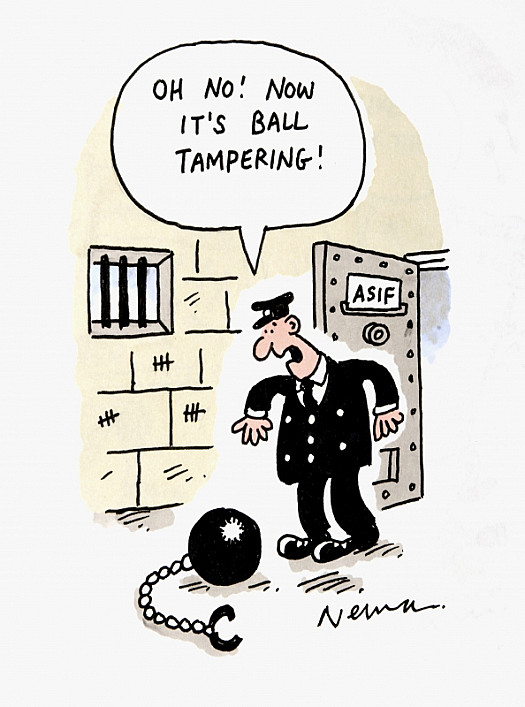 Oh No! Now It's Ball Tampering!