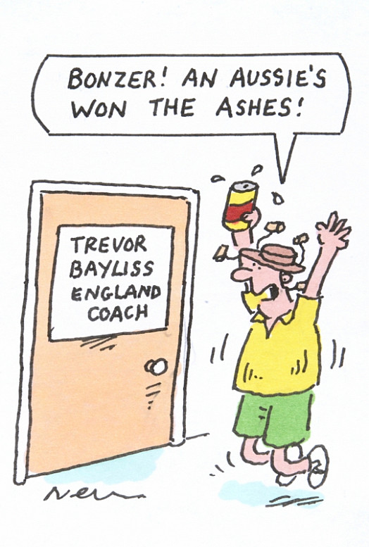 Bonzer! an Aussie's Won the Ashes!