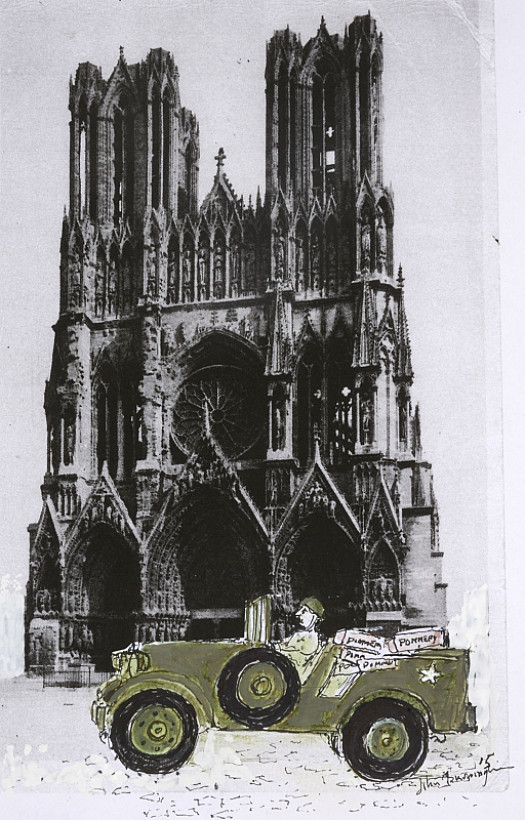 Reims Cathedral I