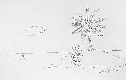 Ronald Searle on Desert Island Discs