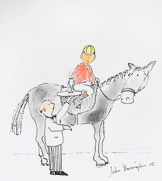 'Jockeys Drink Champagne as an Everyday Tipple, Since It Goes to the Head Without Thickening the Waist'