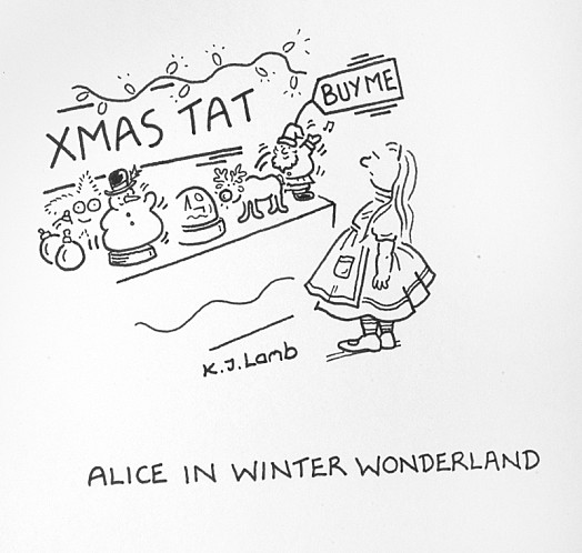 Alice In Winter Wonderland
