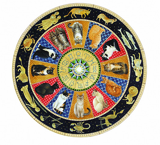 A Zodiac of Cats
