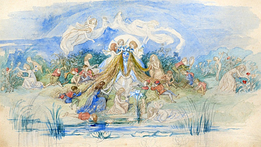 Titania Attended by Her Fairies