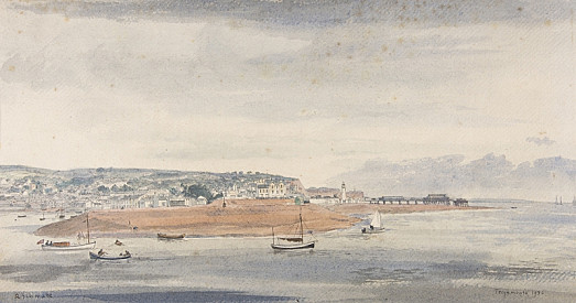 Teignmouth from Shaldon, Devon