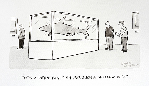 It's a Very Big Fish For Such a Shallow Idea