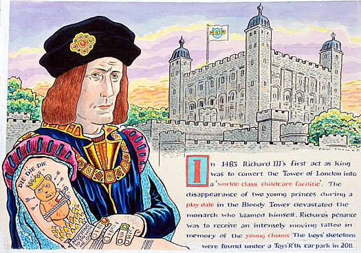 In 1483 Richard Iii's First Act as King Was to Convert the Tower
