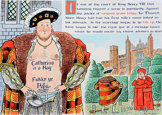 It Was At the Court of King Henry Viii That Tattooing Enjoyed a Surge