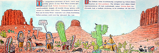 The Ubiquitous Presence of both Cacti and Prickly Pears In the Wild West