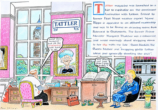 Tattler Magazine Was Launched In a Bid to Capitalise On the Continued