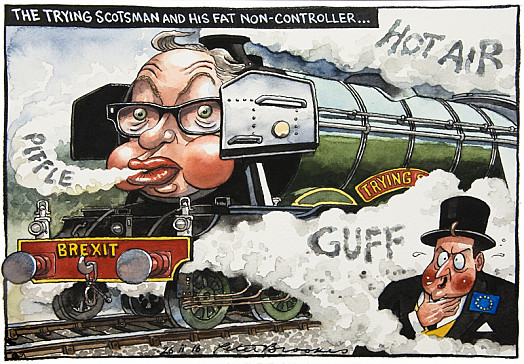 The Trying Scotsman and His Fat Non-Controller...