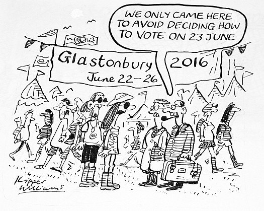 We only Came Here to Avoid Deciding How to Vote On 23 June