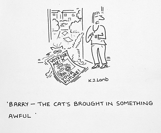 Barry - the Cat's Brought In Something Awful