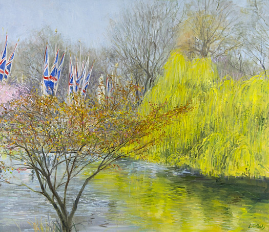 Willow In Spring, St James's Park