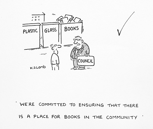 We're Committed to Ensuring That There Is a Place For Books In the Community
